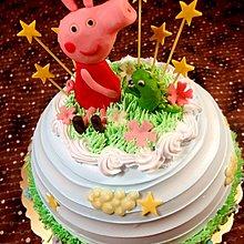甜點兒窩廚房 佩佩豬 小豬 造型蛋糕 生日蛋糕