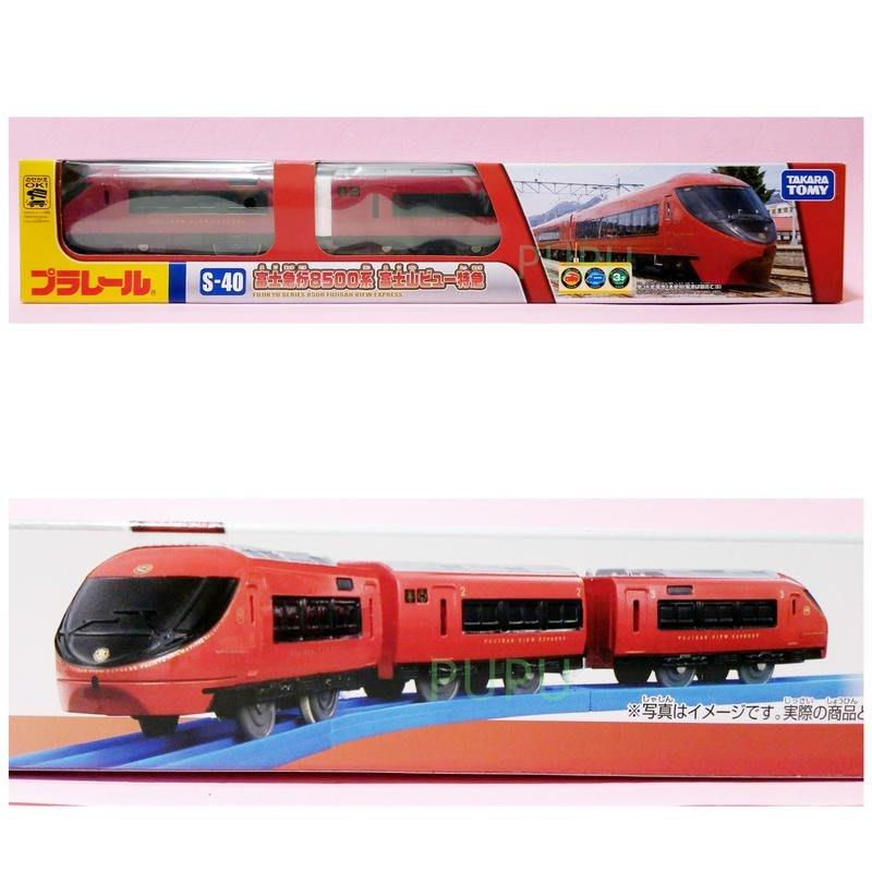 *PUPU屋* PLARAIL S-40 富士 急行 8500系 鐵道王國 多美 全新 現貨