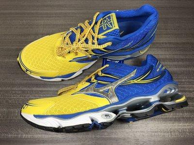 MIZUNO 美津濃 WAVE CREATION 14 男慢跑鞋 8KN-300100