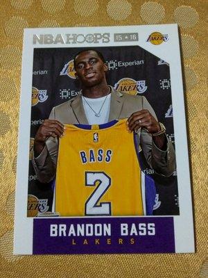 Panini Hoops 湖人 Brandon Bass 10元起標