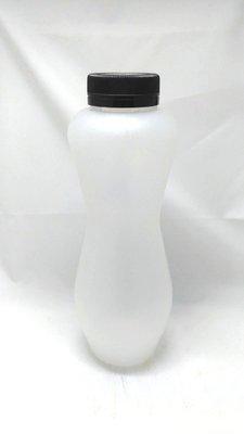 曲線瓶 圓弧瓶 700cc  冷泡茶瓶 耐熱瓶 飲料瓶 塑膠瓶 美人瓶 圓瓶 PP材質 100支單價