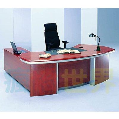 《瘋椅世界》OA辦公家具 全系列 高級木製 主管桌 EN-218 (董事長桌/老闆桌/辦公桌/工作桌)需詢問