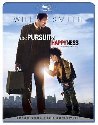 BD 全新美版【當幸福來敲門】【The Pursuit of Happyness】Blu-ray 藍光 威爾史密斯