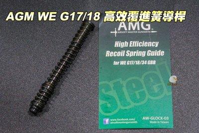 【翔準軍品AOG】AMG WE G17/18  高效覆進簧導桿 AWGLOCK03