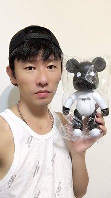 【阿波的窩 Apo's house】10吋 25公分 黑色 黑白色 POPOBE 暴力熊 公仔 擺飾 玩具 禮品