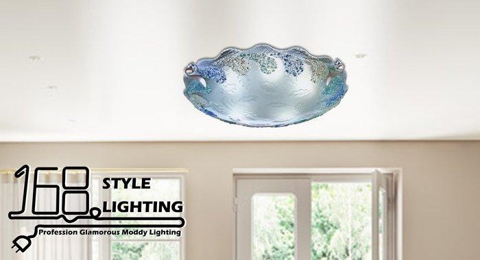 【168 Lighting】海洋風情《居家吸頂燈》(兩款)八燈款GI 71394-1