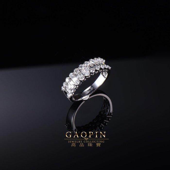 【高品珠寶】設計款《圓環》鑽石戒指 求婚戒指 訂婚戒指 情人節禮物  生日禮物 #3579