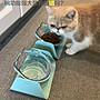 【蘑菇小隊】貓碗雙碗食盆狗碗 保護頸椎斜口...