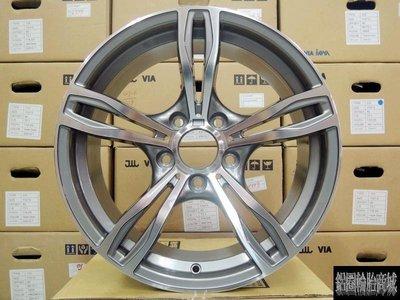 【CS-184】全新鋁圈 類 BMW M5 17吋 5孔120 灰底車亮面 E36 E46 E90 F10 X1 專用 新北市