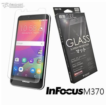 【UNIPRO】Metal-Slim 鴻海 富可視InFocus M370 9H弧邊耐磨防指紋超薄鋼化貼 玻璃保護貼