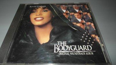 西洋CD-惠妮休斯頓 The Bodyguard. 終極保鑣.電影原聲帶.有歌詞.播放正常