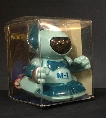 A-4 櫃 : 2002 SILVERLIT TOYS M-I MPAL WIND-UP 太空 電動行走機器人