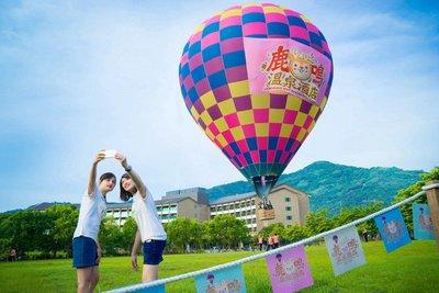 熱氣球搭乘券500元,台東鹿鳴酒店「365天天起飛」不必暑假人擠人