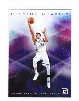 2019-20 Donruss Defying Gravity Giannis Antetokounmpo等4張一起賣