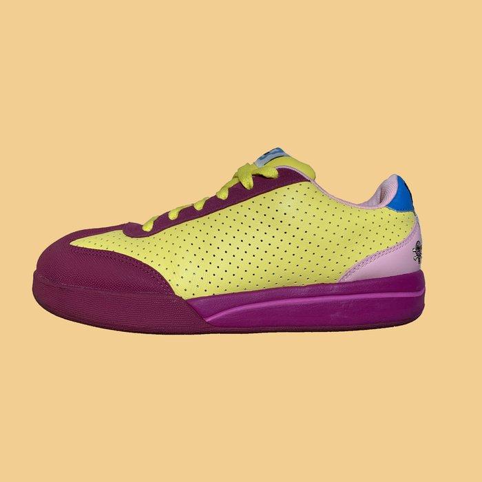 「已售出」JCI:REEBOK X BBC ICE CREAM 紫黃配色 限量滑板鞋 Bape / Sk8P /