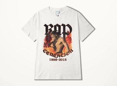 美國 饒舌 XXXTentacion 紀念 短T 嘻哈 饒舌 HIP HOP RAP 黑白2色 尺寸:S~3XL