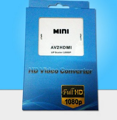 MINI AV TO HDMI AV轉HDMI CVBS轉換器HDMI2AV av to hdmi 951