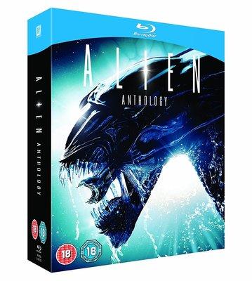 BD 全新英版【異形四部曲】【Alien Anthology】Blu-ray 藍光