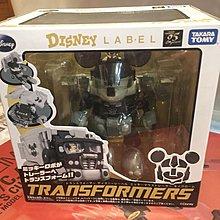 全新 米奇 變型金剛 特別版 Transformers Disney Mickey