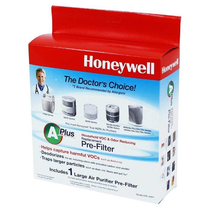Honeywell CZ 除臭 活性碳 濾網 HRF-APP1AP / HRF-APP1 原廠 HPA-100APTW