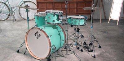 【現代樂器】現貨!Dixon CornerStone 系列 Neo-Mint 北美楓木製作 新薄荷綠 懸吊式 爵士鼓組
