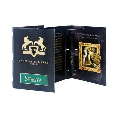 ☆MOMO小屋☆ PARFUMS de MARLY 夏格雅 SHAGYA 男性淡香水 1.2ml (原廠噴式)