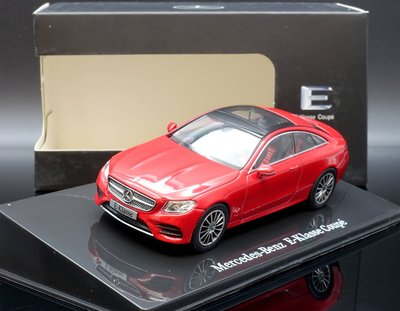 【M.A.S.H】現貨瘋狂價 原廠 i Scale 1/43 Mercedes-Benz E-Class Coupe 紅
