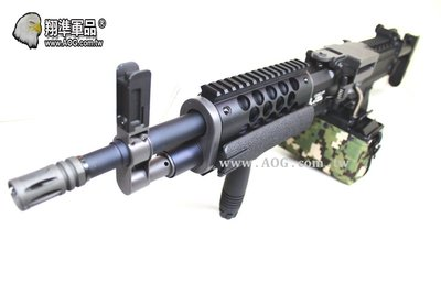 【翔準軍品AOG】《CA》 LIGHT MACHINE GUN CA063M 生存遊戲 機槍 電動槍 瓦斯槍 BB槍 M