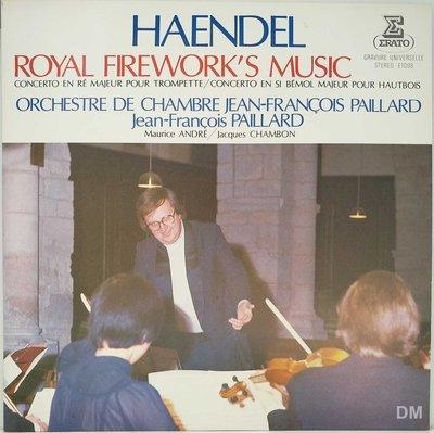 黑膠唱片 Paillard - Haendel Royal Firework's Music