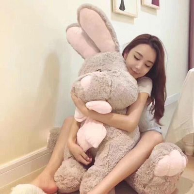 上新新品 正版美國兔邦尼兔毛絨玩具Costco長耳兔公仔布娃娃抱枕玩偶送女生@漫行者動漫抱枕