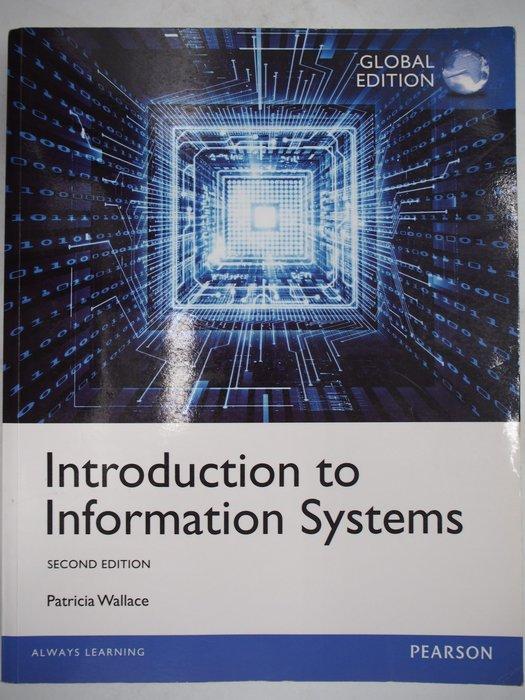 【月界二手書店】Introduction to Information Systems_Wallace〖大學資訊〗AIZ