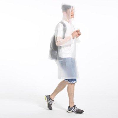 戶外徒步便捷旅行雨衣女成人雨披騎行男透明韓國時尚加厚非一次性