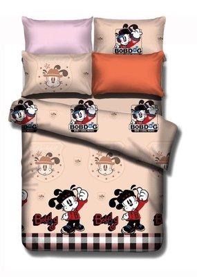【GiGi居家寢飾生活館】法蘭絨 單人3.5尺 鋪棉床包被套組-巴布豆 遊戲小子~免運費~