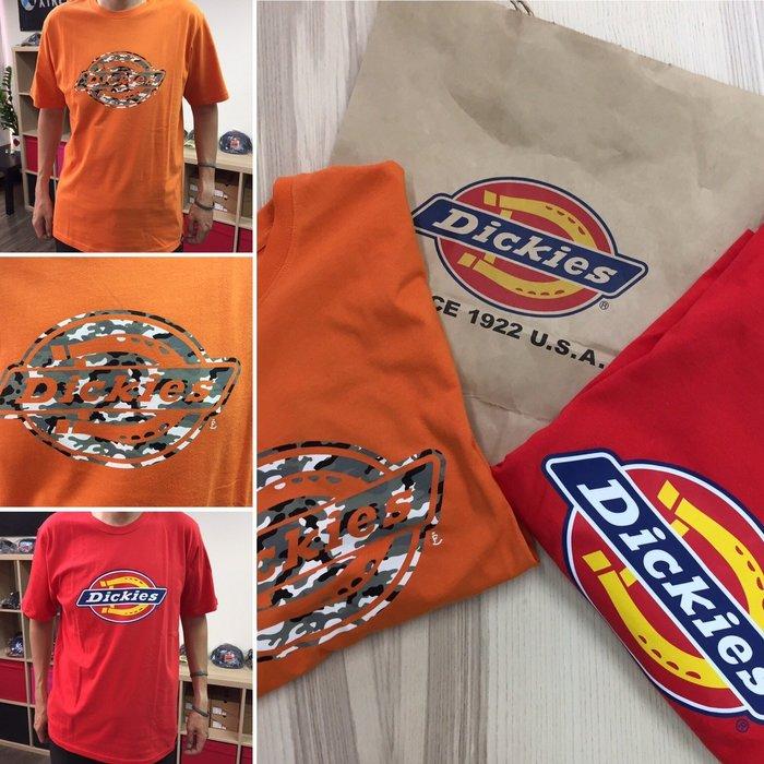 [阿菊潮流工作室] Dickies Fiery Horseshoe T-Shirt 紅色 橘色任選[免運費]