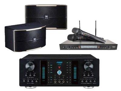 嘟嘟音響 FNSD A-350+DoDo Audio SR-889PRO+JBL Pasion 8 擴大機+麥克風+喇叭