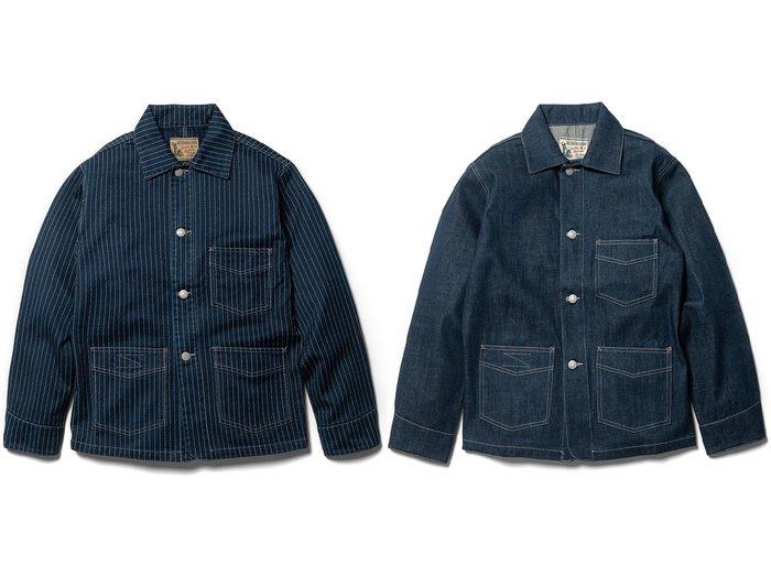 { POISON } RETRODANDY WABASH JACKET 美國鐵道工人 藍染復古工作外套