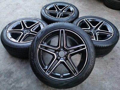 賓士正原廠GLE&GLS用新款AMG 21吋輪框含胎