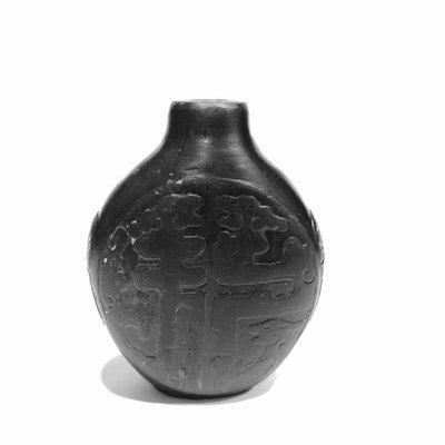 【小小的】~ 清代 十八世紀  ~ 清乾隆【御製】 端石鼻煙壺