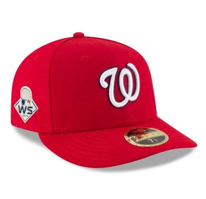 《FOS》New Era WASHINGTON NATIONALS 華盛頓國民 2019世界大賽 棒球帽 美國職棒大聯盟