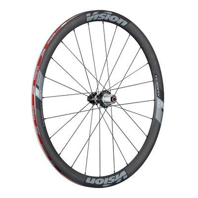 [SIMNA BIKE]【碟煞輪組】Vision TRIMAX CARBON 40 碳纖 (碳包鋁) 碟煞輪組 -開口胎