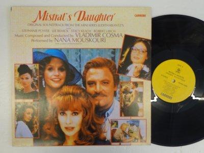 【柯南唱片】mistral's daughter//電視劇的原聲帶//主唱nana 娜娜>>台版LP