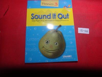 【愛悅二手書坊 16-06】Sound It Out  Phonics3     LiveABC(封面為藍色)