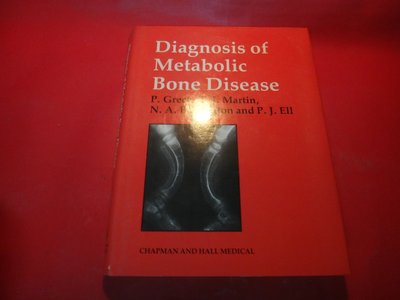 【愛悅二手書坊 23-05】Diagnosis of Metabolic Bone Disease