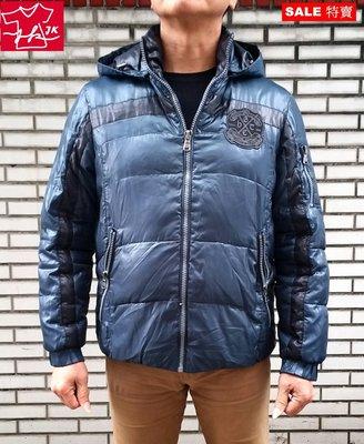 Hang Ten 羽絨外套 連帽-男款-M-藍綠-韓國銷售版【JK嚴選】LV 鬼怪