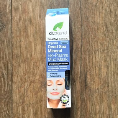 英國製 Dr.Organic Dead Sea Mineral Mud Mask 死海泥面膜 新品