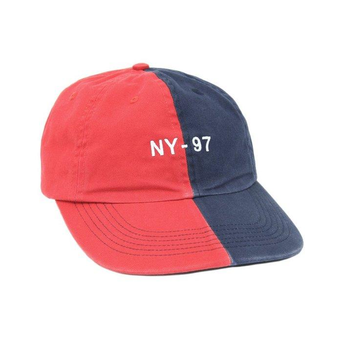 { POISON } ONLY NY NAUTICAL SPLIT POLO HAT 撞色拼接老帽棒球帽 紅藍 美國製