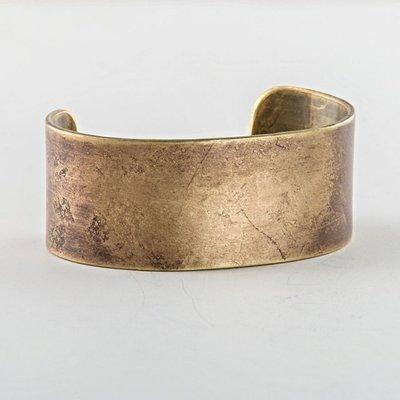 美國匹茲堡職人品牌Studebaker Metal純手工鍛造Broad Cuff黃銅手環 - LTS現貨