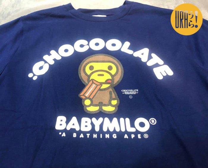 【URA 全新特價】APE BABYMILO X :CHOCOOLATE 五週年 香港限定 五週年限定  海軍藍 深藍