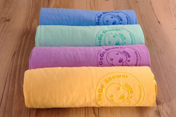 【GOGOSHOWER狗狗笑了】超強海綿吸水毛巾_每組2條~瞬間吸附水份