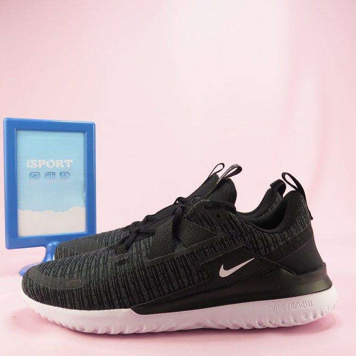 【iSport愛運動】NIKE RENEW ARENA 慢跑鞋 現貨正品 AJ5903001 男款 黑 大尺碼